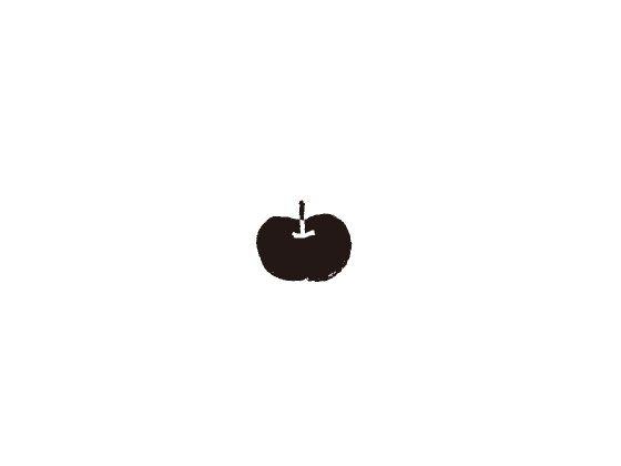 ウェディングスタンプ プチスタンプ りんご