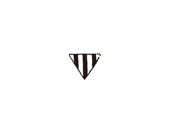 ウェディングスタンプ プチスタンプ 旗2