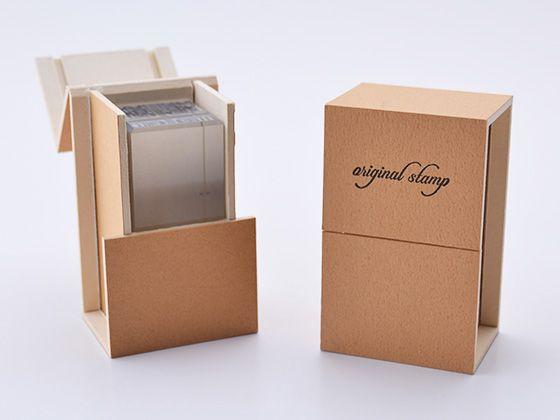 ゴム印収納簡易ケース GB02